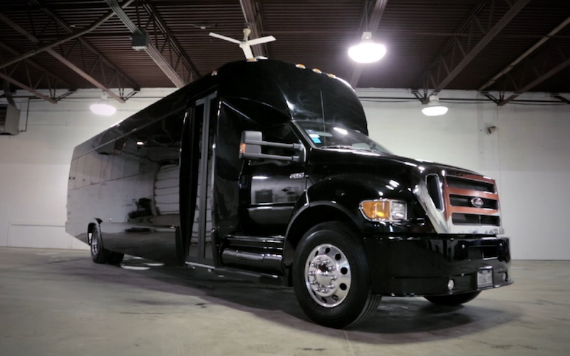 34 Passenger Limo Bus Chicago S Limo Service